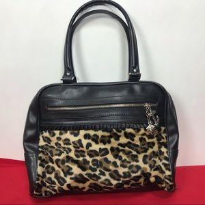 Lux De Ville Leopard purse NWT Rockabilly